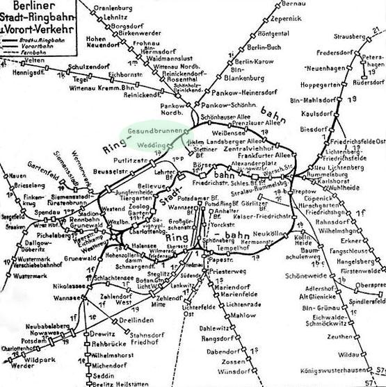 S-Bahnnetz