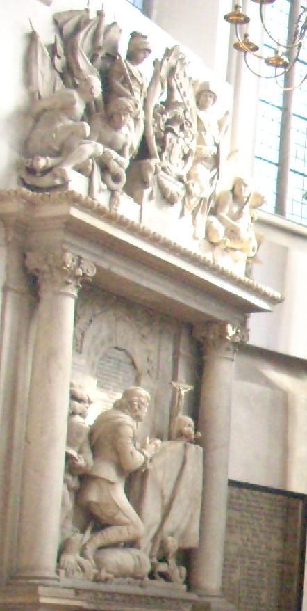 Grab Otto Christoph von Sparr.Rabanus Flavus